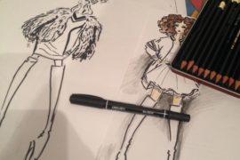 Рисунок по дизайну одежды